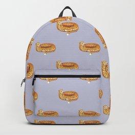 Cheetah Doughnut Backpack
