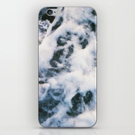 Standing on the shoreline iPhone Skin