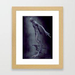 Blind Demon Framed Art Print