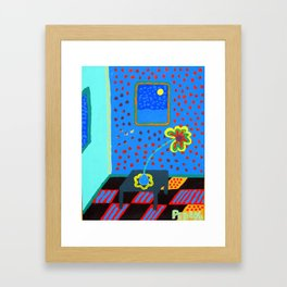 One Daisy Framed Art Print