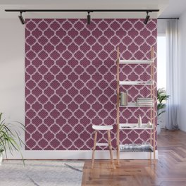 Harem Window (Mulberry Wine) Wall Mural