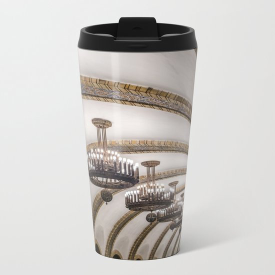 Kyiv subway Metal Travel Mug