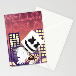 MARSHMELLO HELLO WORLD TOUR DATES 2019 RISOL Stationery Cards