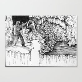 rescue at midnight Canvas Print