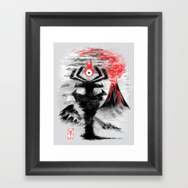 Eye of the Shadow Framed Art Print