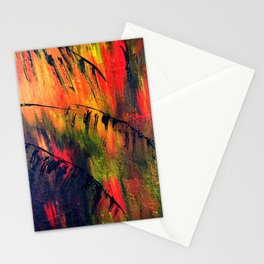 Rainbow Palms Stationery Cards