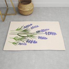 Small Watercolor Bloom 05 Rug