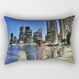 Brisbane River Walk Rectangular Pillow