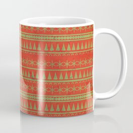 Dirty Christmas Pattern Coffee Mug