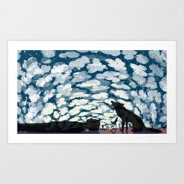 A Million Heavens Art Print