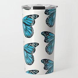 Blue Morpho Butterfly Travel Mug