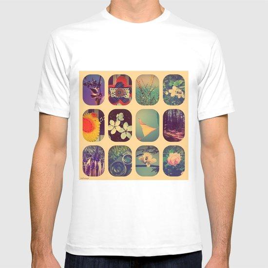 Spring collage T-shirt