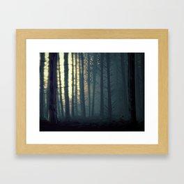 Waldeinsamkeit Framed Art Print