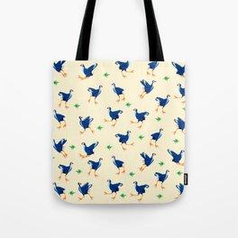 Pukeko swamp hen pattern Tote Bag