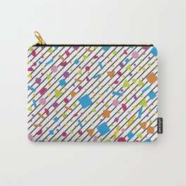Geometric Multicolor Background XX Carry-All Pouch