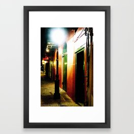 Pirate Alley  Framed Art Print
