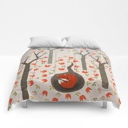 Sleeping Fox Comforters
