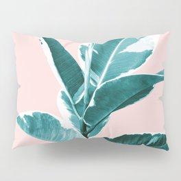 Ficus Elastica Finesse #2 #tropical #foliage #decor #art #society6 Pillow Sham