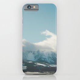 Bridger Mountain Cloud Cover iPhone Case