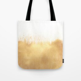 Brushed Gold Tote Bag