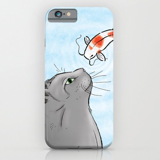 Koi and Cat iPhone & iPod Case