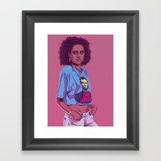 80/90s - Miss. Framed Art Print