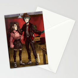 Rosana and J - momodraws oc Stationery Cards