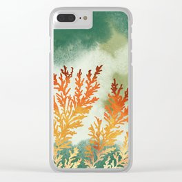 Sandstone Fossils Clear iPhone Case