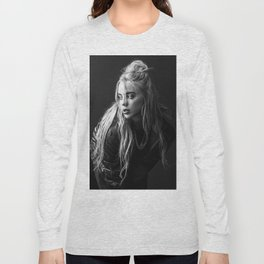 Billie Black and White Long Sleeve T-shirt