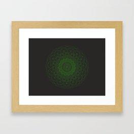 Sacred G Orgasma Framed Art Print
