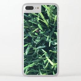 tuff turf Clear iPhone Case