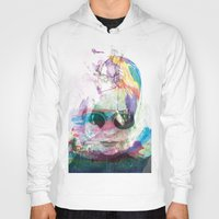 women Hoodies featuring Women by Oana Popan