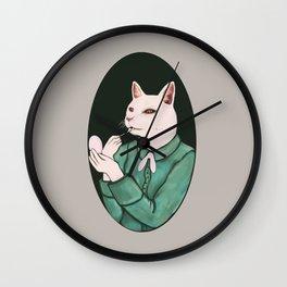 Cat Lip Wall Clock