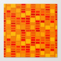 mosaic Canvas Prints featuring mosaic by Ioana Luscov