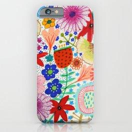 fleur-moi iPhone Case