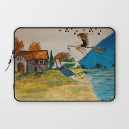 Night comes earlier Laptop Sleeve