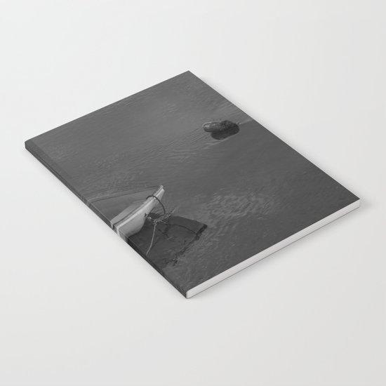 Boat B&W Notebook