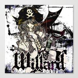 WILLARD THE WENCH Canvas Print