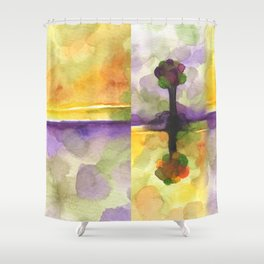As Above So Below No14 Shower Curtain