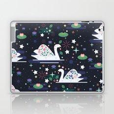Swans on Stars  Laptop & iPad Skin
