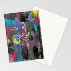 Be a mystery Stationery Cards