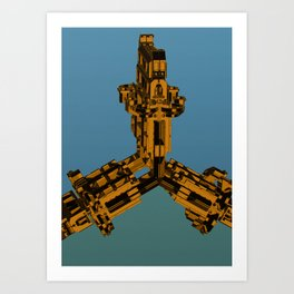 Mechanical 7 Art Print