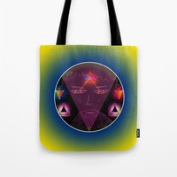 wizard Tote Bags featuring Wizard by Spooky Dooky