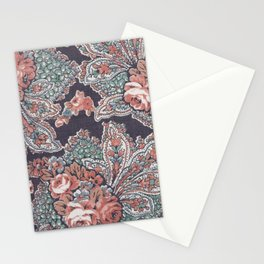 Vintage Floral Pattern Stationery Cards