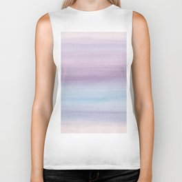 Pastel Watercolor Dream #1 #painting #decor #art #society6 Biker Tank