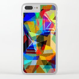 Energy design Clear iPhone Case