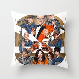 Manners Maketh Man Throw Pillow