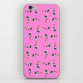 Cows and Pizza iPhone Skin