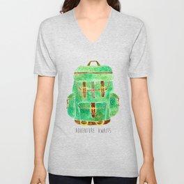 Backpack Adventure Unisex V-Neck