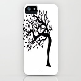 Tree Birds x2 iPhone Case